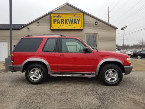 1997 Ford Explorer for sale at Parkway Motors in Springfield IL