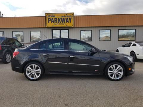 2013 Chevrolet Cruze for sale at Parkway Motors in Springfield IL