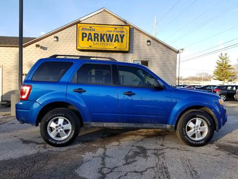 2012 Ford Escape for sale at Parkway Motors in Springfield IL