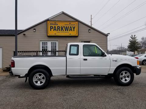 2004 Ford Ranger for sale at Parkway Motors in Springfield IL