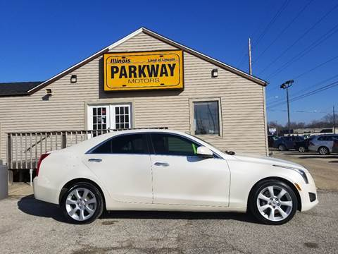 2014 Cadillac ATS for sale at Parkway Motors in Springfield IL
