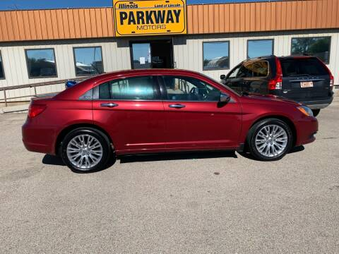 2012 Chrysler 200 for sale at Parkway Motors in Springfield IL