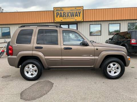 2002 Jeep Liberty for sale at Parkway Motors in Springfield IL