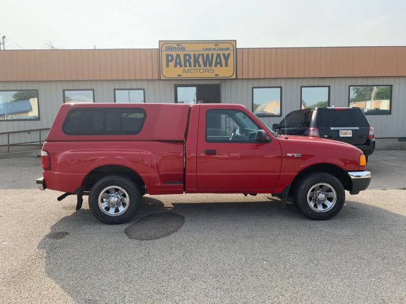 2001 Ford Ranger for sale at Parkway Motors in Springfield IL
