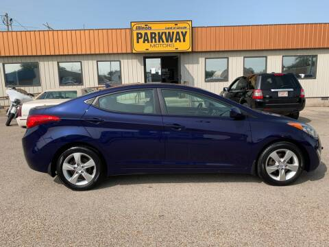 2012 Hyundai Elantra for sale at Parkway Motors in Springfield IL