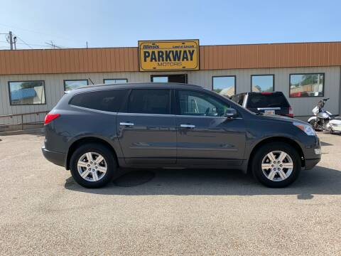 2012 Chevrolet Traverse for sale at Parkway Motors in Springfield IL