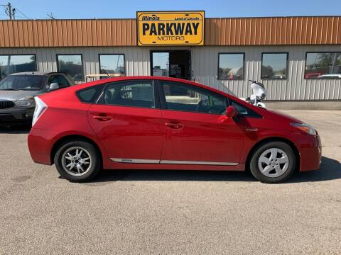 2011 Toyota Prius for sale at Parkway Motors in Springfield IL