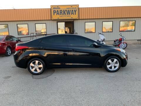 2013 Hyundai Elantra for sale at Parkway Motors in Springfield IL