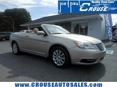 2013 Chrysler 200 Convertible for sale in Columbia, PA