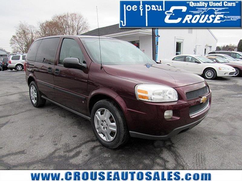 2007 Chevrolet Uplander For Sale - CarGurus