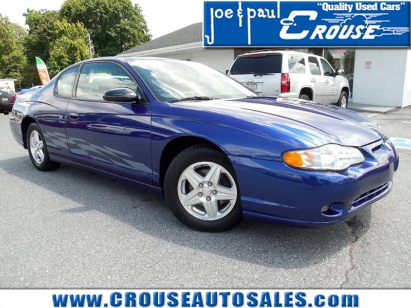 2005 Chevrolet Monte Carlo LT 2dr Coupe   Columbia PA