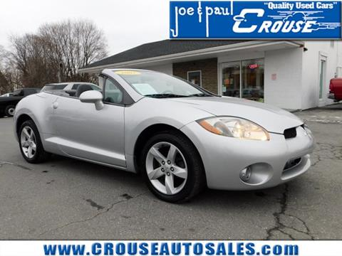 2007 Mitsubishi Eclipse Spyder for sale in Columbia, PA