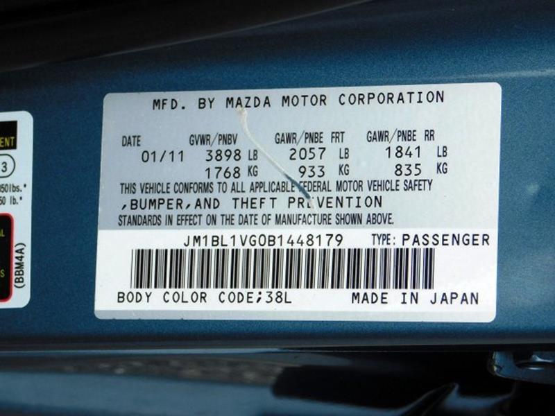 2011 Mazda MAZDA3 i Touring 4dr Sedan 5M - Columbia PA