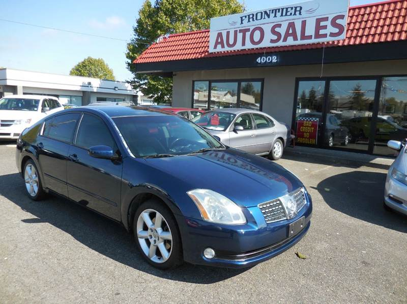 Amazing 2006 Nissan Maxima For Sale At Frontier Auto Sales #2 In Auburn WA
