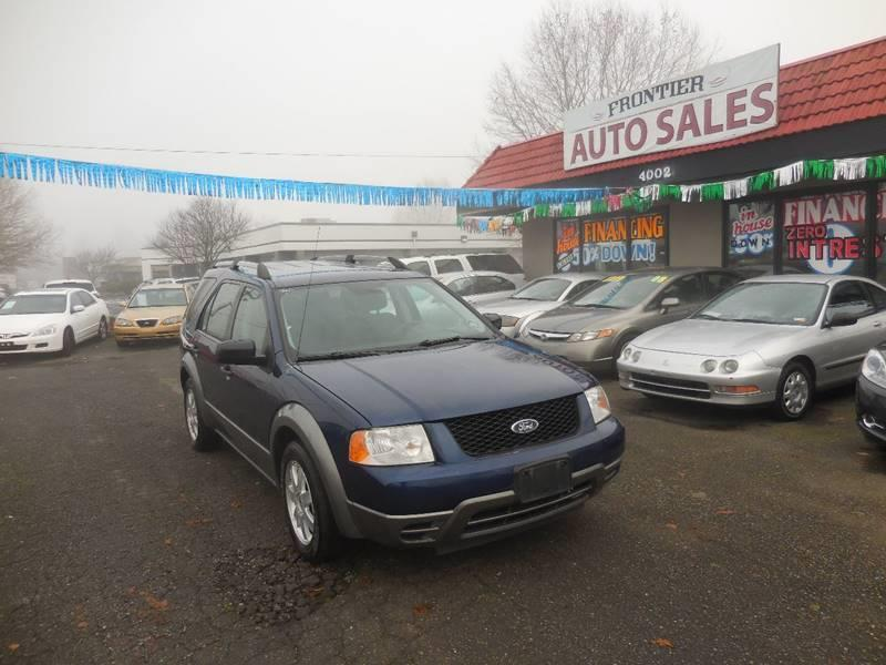 Ford Freestyle SE In Auburn WA Frontier Auto Sales - 2005 freestyle