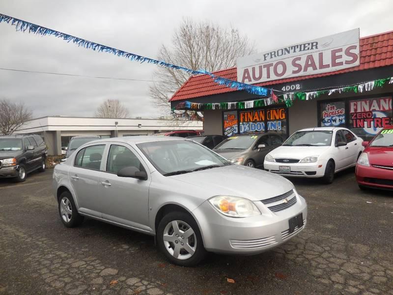 Frontier Auto Sales >> 2007 Chevrolet Cobalt Ls In Auburn Wa Frontier Auto Sales 2