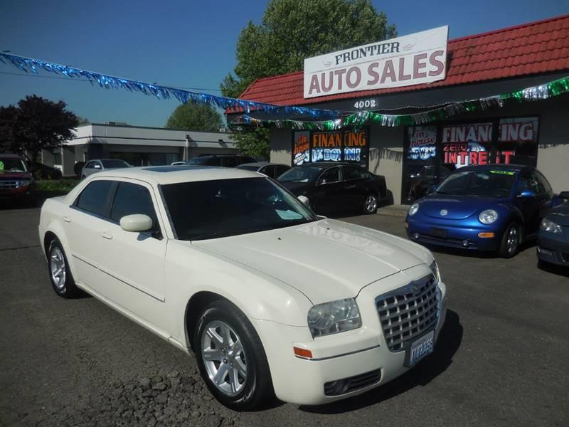 Frontier Auto Sales >> 2005 Chrysler 300 Touring In Auburn Wa Frontier Auto Sales 2