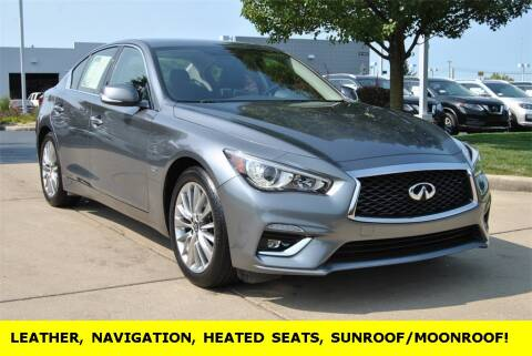 2018 Infiniti Q50 for sale at Ken Ganley Nissan in Medina OH