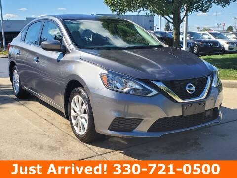 2019 Nissan Sentra for sale at Ken Ganley Nissan in Medina OH
