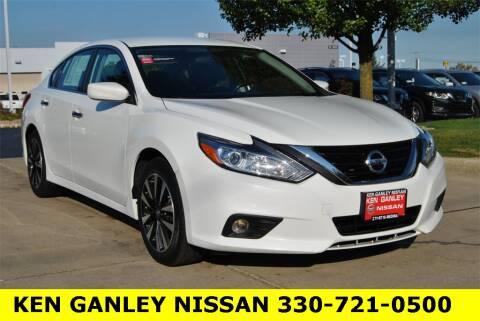 2018 Nissan Altima for sale at Ken Ganley Nissan in Medina OH