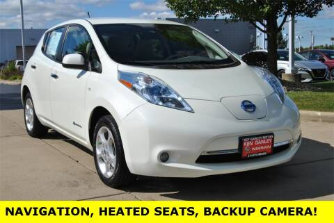 2012 Nissan LEAF for sale at Ken Ganley Nissan in Medina OH