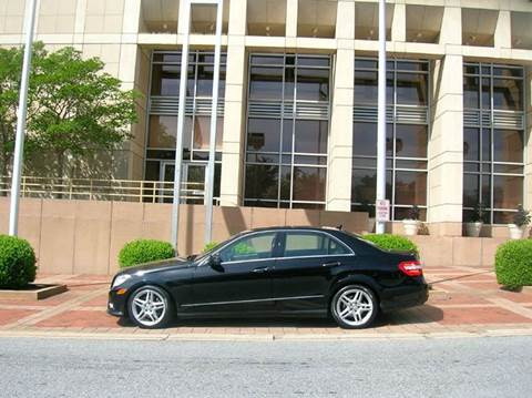 2011 Mercedes-Benz E-Class for sale at SIGNATURES AUTOMOTIVE GROUP LLC in Spartanburg SC