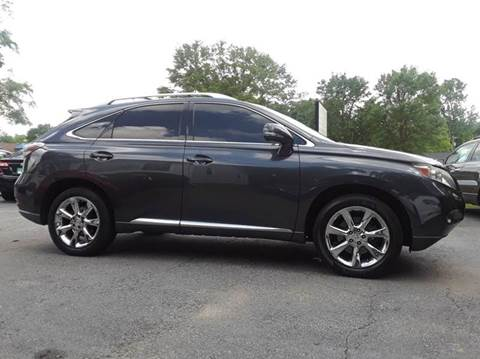 2010 Lexus RX 350 for sale at SIGNATURES AUTOMOTIVE GROUP LLC in Spartanburg SC