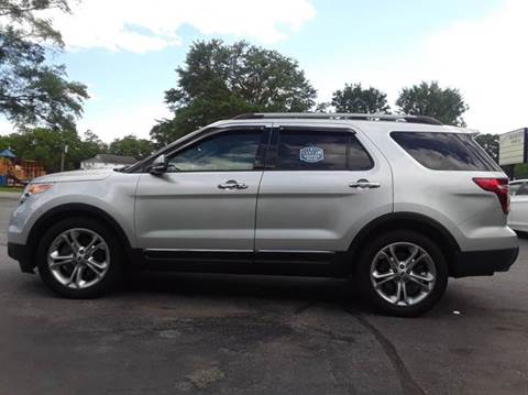 2014 Ford Explorer for sale at SIGNATURES AUTOMOTIVE GROUP LLC in Spartanburg SC