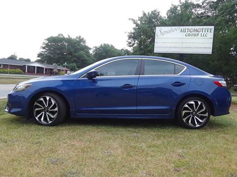 2016 Acura ILX for sale at SIGNATURES AUTOMOTIVE GROUP LLC in Spartanburg SC