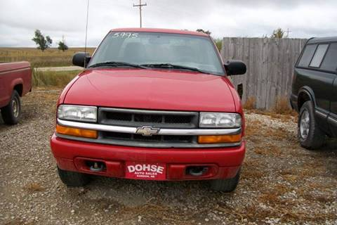 2001 Chevrolet S-10 for sale in Gordon, NE