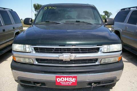 2003 Chevrolet Tahoe for sale in Gordon, NE