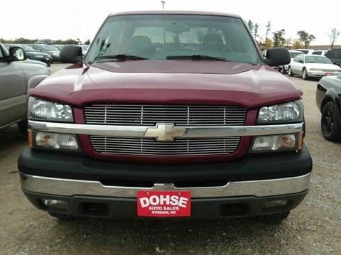 2004 Chevrolet Silverado 1500 for sale in Gordon, NE