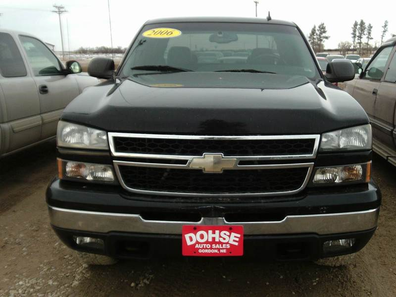 2006 chevrolet silverado 1500 lt1 4dr extended cab 4wd 6 5 ft sb in gordon ne dohse auto sales. Black Bedroom Furniture Sets. Home Design Ideas