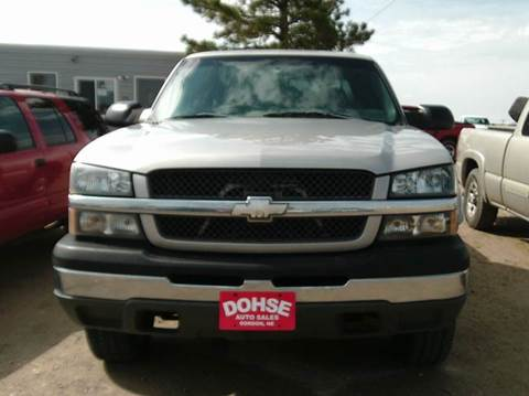 2004 Chevrolet Silverado 2500 for sale in Gordon, NE