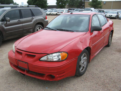 2003 Pontiac Grand Am for sale at Jim & Ron's Auto Sales in Sioux Falls SD