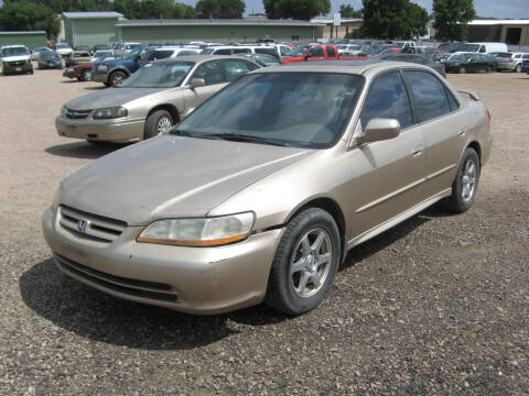 2001 Honda Accord for sale at Jim & Ron's Auto Sales in Sioux Falls SD