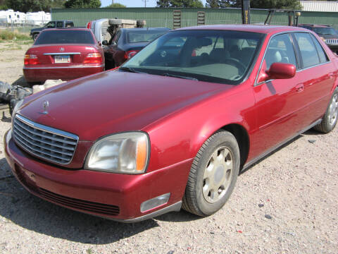 2001 Cadillac DeVille for sale at Jim & Ron's Auto Sales in Sioux Falls SD