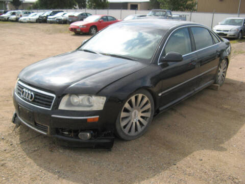 2004 Audi A8 L for sale at Jim & Ron's Auto Sales in Sioux Falls SD