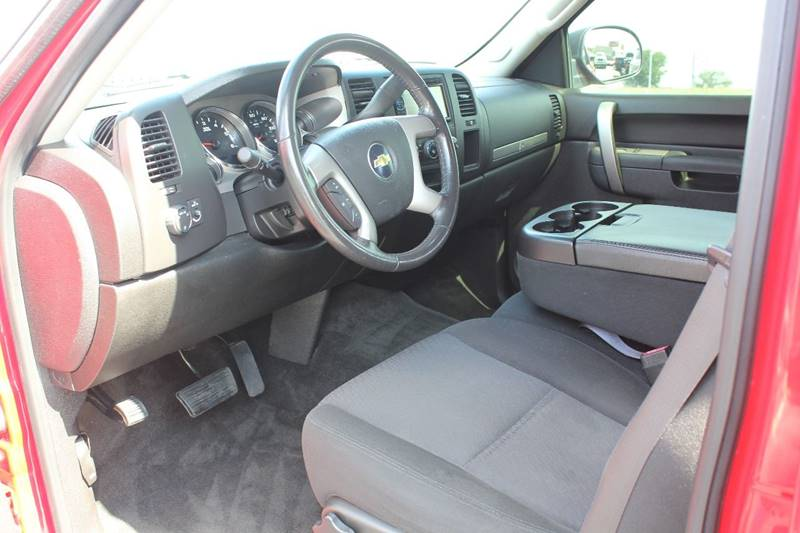 2011 Chevrolet Silverado 1500 4x4 Lt 4dr Crew Cab 5 8 Ft