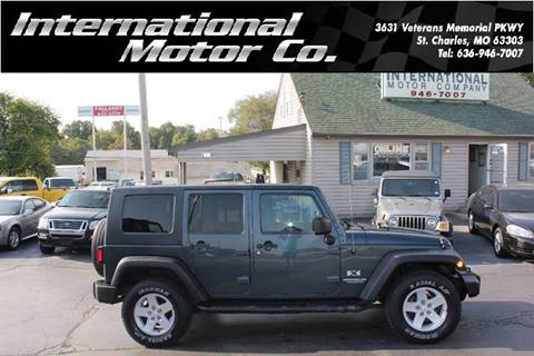 used 2008 jeep wrangler for sale in missouri