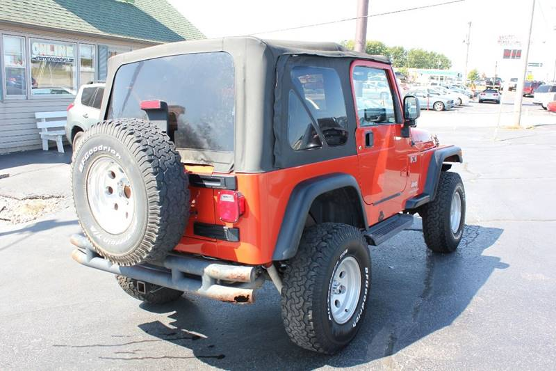 2006 Jeep Wrangler X 2dr SUV 4WD - St. Charles MO