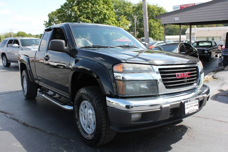 2008 GMC Canyon SLE 4dr Extended Cab 4x4 SB - St. Charles MO