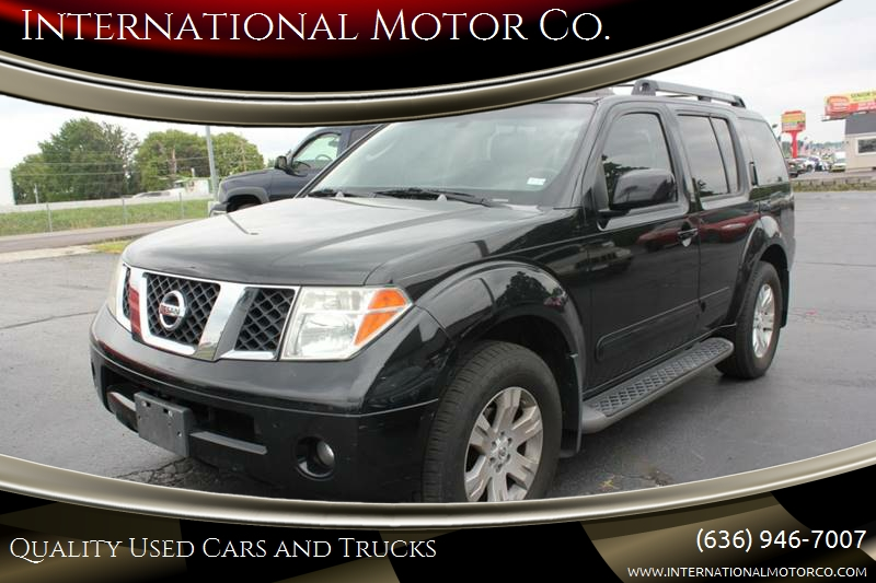 2005 Nissan Pathfinder LE 4WD 4dr SUV   St. Charles MO