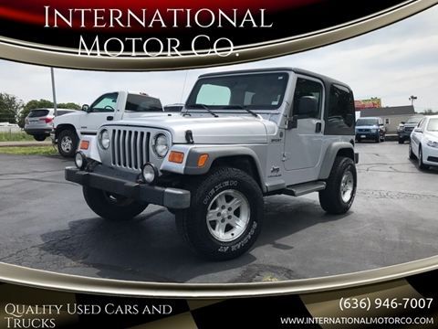 2004 Jeep Wrangler for sale in St. Charles, MO