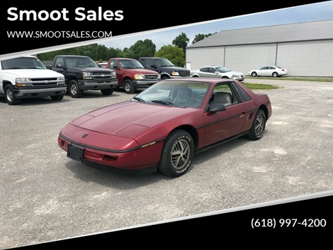 1987 Pontiac Fiero for sale in Crainville, IL
