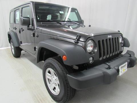 2017 Jeep Wrangler Unlimited for sale in South Haven, MI