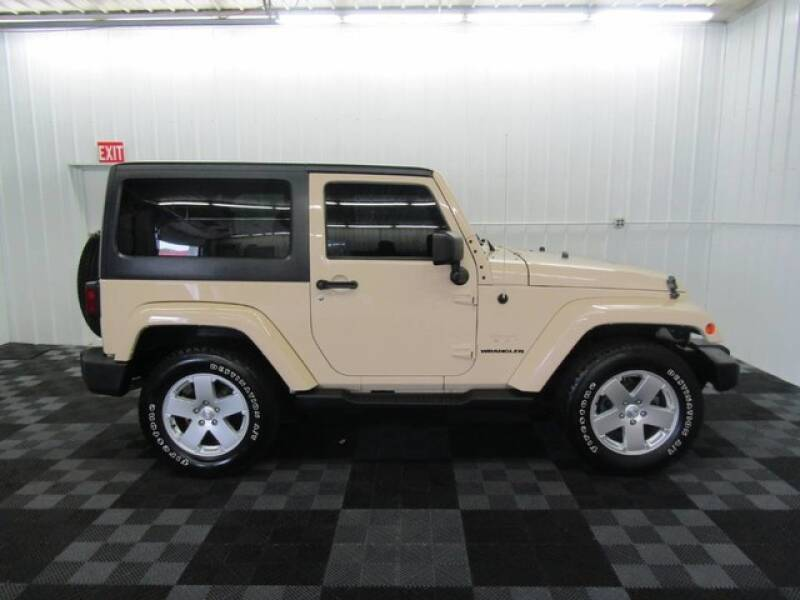 2011 Jeep Wrangler for sale at Michigan Credit Kings in South Haven MI
