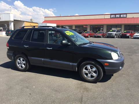 2006 Hyundai Santa Fe for sale in Carson City, NV