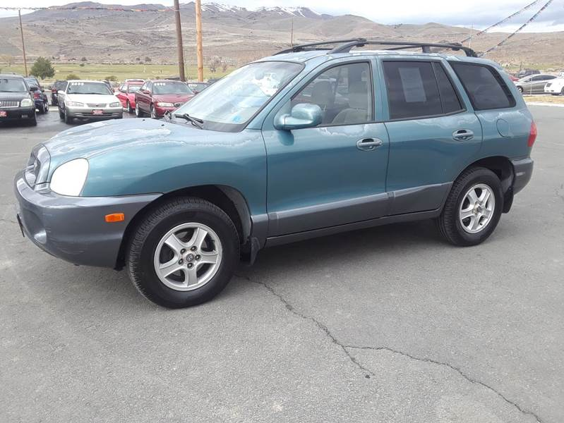2002 Hyundai Santa Fe Awd Gls 4dr Suv In Carson City Nv Super