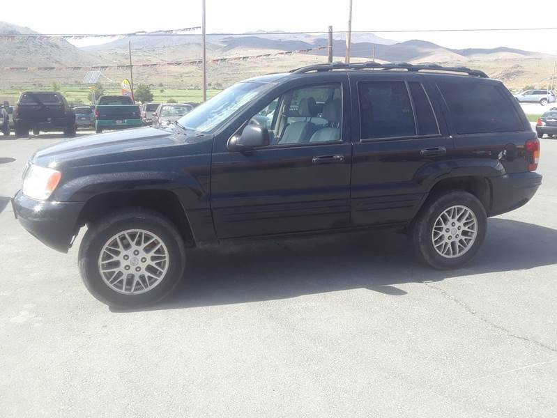 Carson City Jeep >> 2003 Jeep Grand Cherokee Limited 4wd 4dr Suv In Carson City Nv